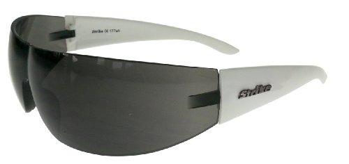 Strike Sonnenbrille 177 weiß Randlos Sportbrille Radbrille