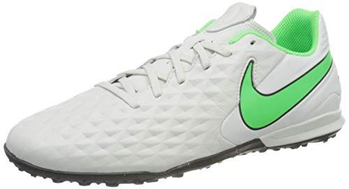 Nike Legend 8 Academy TF, Scarpe da Calcio Unisex-Adulto, Platinum Tint/Rage Green-Black, 42.5 EU