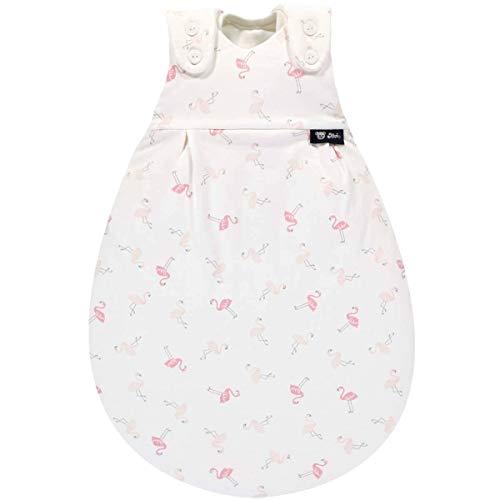 Alvi Baby-Mäxchen Außensack Super-Soft Flamingo 56/62