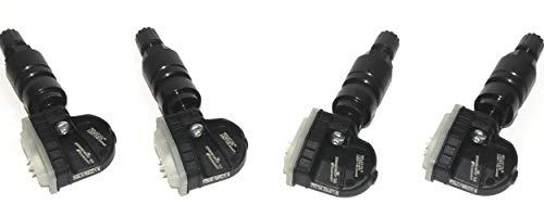 MAL Electronics GmbH gepresenteerd: 4 stuks Schrader EZ-Sensor® 2.0 - # 2210B aluminium ventiel zwart - klaar geprogrammeerd voor VW Crafter 30-35 bus (2E_) 2.0 TDI
