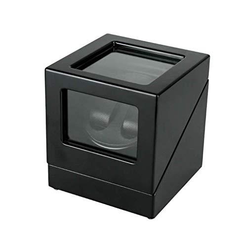 SCDZS Caja de almacenamiento, exhibición del reloj Caja Swaying mesa de agitación motor del plato giratorio Marco de la joyería caja de almacenamiento Caja de almacenamiento reloj de la tabla de los h