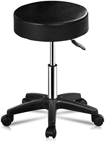 Top 10 Best adjustable hydraulic salon spa swivel bar stool chair facial massage Reviews