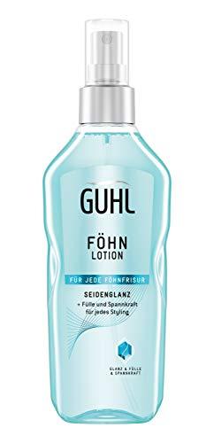 Guhl Föhnlotion Seidenglanz - Föhnspray für Fülle & Spannkraft - Für jede Föhnfrisur - 150 ml