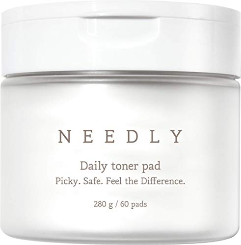 Needly | Exfoliating Facial Pads with BHA & PHA | Daily Toner Pad | For Pore Tightening