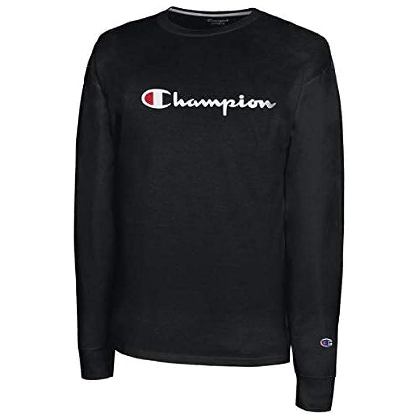 期待して助手シンジケート(チャンピオン)Champion Classic Cotton L/S T-Shirt メンズ Tシャツ [並行輸入品]