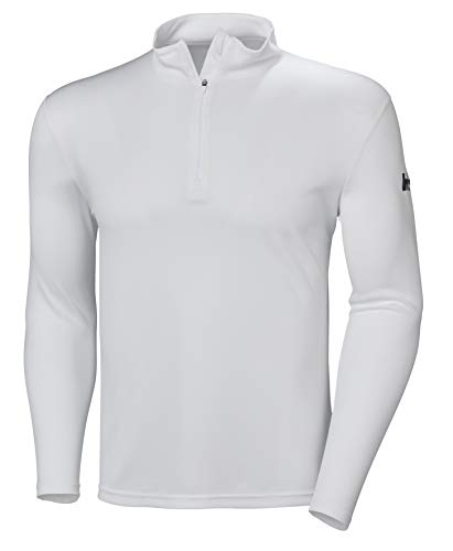Helly Hansen Herren Hh Tech 1/2 Zip Poloshirt, Weiß (Blanco 001), Large