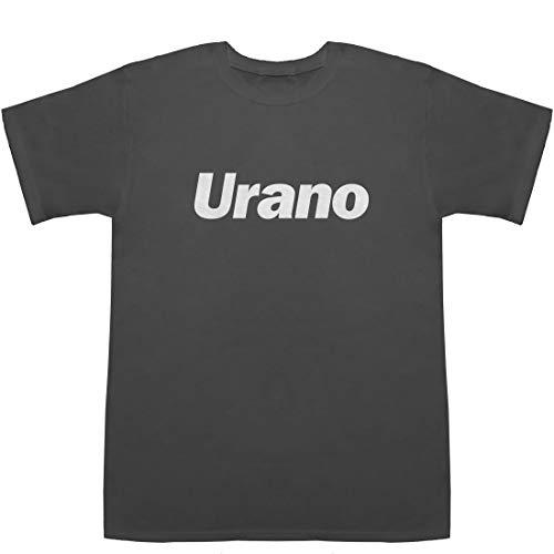 Urano 浦野 ウラノ T-shirts スモーク S【上毛かるた 】【駅伝】