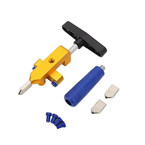 2 en 1 cortador de azulejos de vidrio, vidrio manual de mano premium y cortador de baldosas, para el corte de espejos de azulejos de vidrio