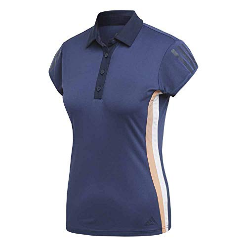 adidas Club 3Str Polo, Mujer, Azul (indnob), M