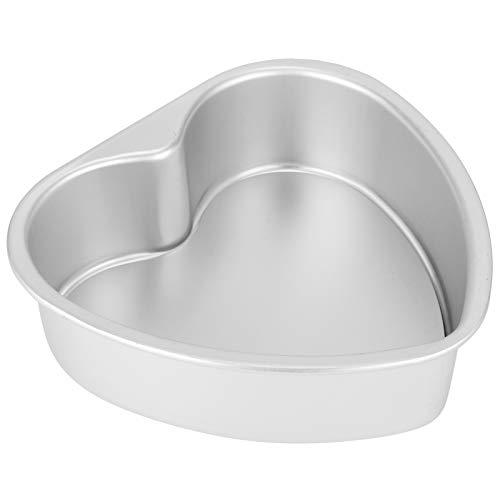Apropiado Pastel Molde, 21 X 19.5 cm Oxidación Resistencia Corrosión Resistencia Pastel Giratorio Placa giratoria Hecho de Aluminio Aleación
