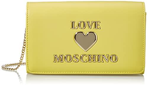 Love Moschino Precollezione SS21   Borsa a Spalla da Donna, Giallo, Normal