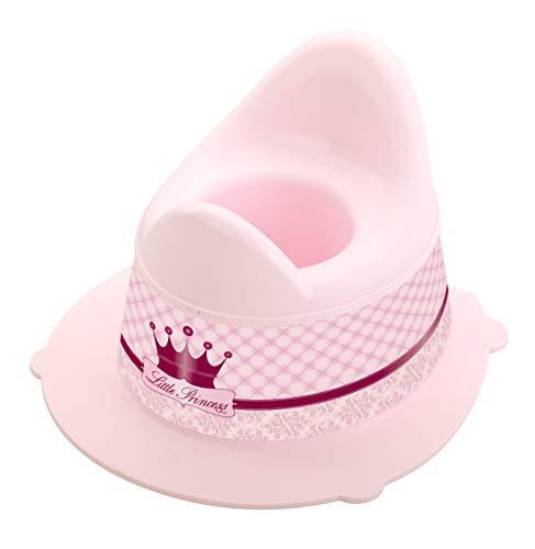 Rotho Babydesign Pot pour Enfants Little Princess StyLe!, Avec Partie Supérieure Amovible, À partir de 18 Mois, StyLe!, Rose, 202130208BG