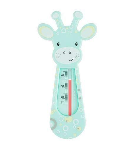 Thermomètre de bain flottant pour bébé Girafe Turquoise