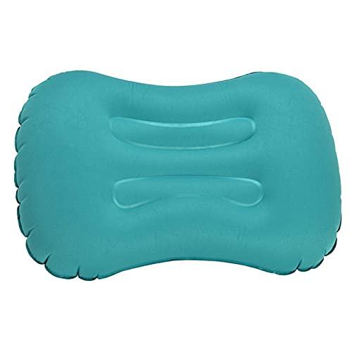 Ultralight leggero cuscino da viaggio Gonfiabile cuscino Cuscino di seduta multifunzionale per campeggio all'aperto, spiaggia, vacanze, ufficio, viaggi (blu)
