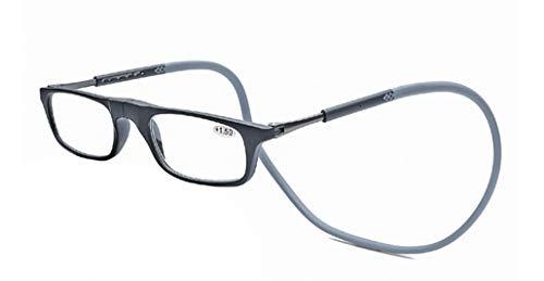 PANGHU Gafas Lectura Frente Magnético Nuevo Cuello Colgando Gafas De Lectura Magnética +1.0 to +4.0