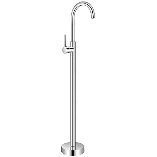 Stand-Badewanne Wasserhahn Badewanne Wasserhahn Bad Einhebelmischer Waschbecken Wasserhahn Becken Wasserhahn Heiße und kalte Wasserhahn (Farbe : EIN)