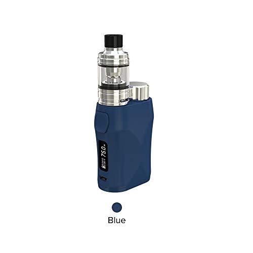 Eleaf Istick Kit 75W Pico, Eleaf iStick Pico X con Sigaretta Elettronica Melo 4-Niente Nicotina e Tabacco (Blu)