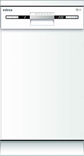 Edesa - EDW-4692 WH Lavavajillas Independiente 9 cubiertos A++ -, Estrecho (45 cm), Blanco