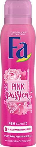 FA Deospray Pink Passion Duft der Pinken Rose 150 ml