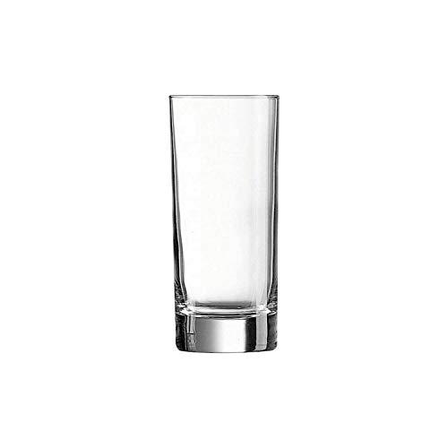 Arcoroc J3308 Vaso Largo 29 cl, Transparente, Paquete de 6