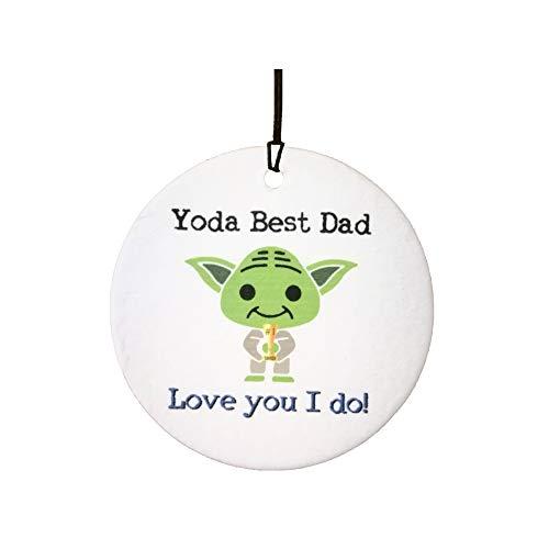 Ali Air Freshener Yoda Best Dad Auto Lufterfrischer
