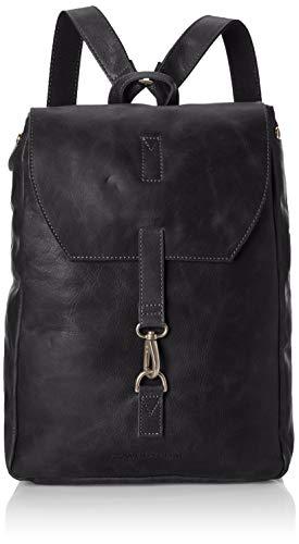 Cowboysbag Damen Backpack Tamarac 15.6 Inch Rucksackhandtasche, Schwarz (Black), 6x6x6 cm