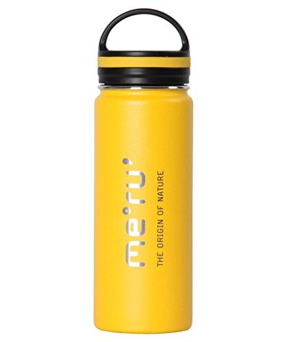 Meru Splash Isolierflasche, Yellow, 0.5L