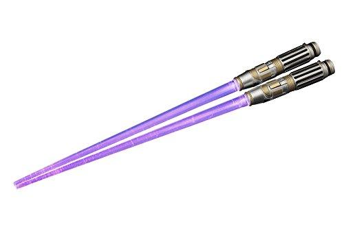 Kotobukiya Mace Windu Light Up Version Lightsaber Chopsticks 'Star Wars' Action Figure