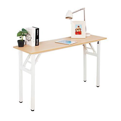 SogesHome Escritorio plegable de 120 x 40 cm, escritorio para ordenador portátil,...