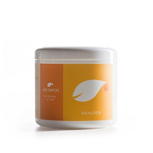 Bio Kalkreiniger - Kalklöser von Uni Sapon - rein pflanzlich - reinigt mit hochwertiger Fruchtsäure - chemiefrei - giftfrei - zertifiziert , Größe:450 g