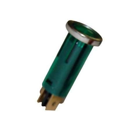 Voyant Lumineux Tubulaire Vert 16.75mm - ADNAuto