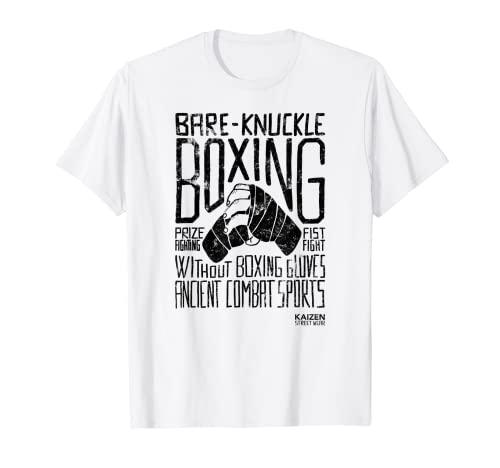 Bare-Knuckle Boxing - Diseño Negro - Camiseta