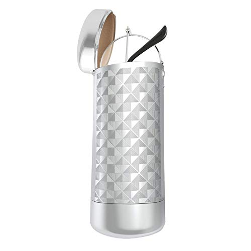 XLKJ Estuche para Gafas, Caja de Aluminio de Las Gafas, Estuche Gafas para Mujer y Hombre