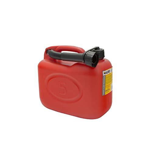 Maurer 02325580 - Tanica per benzina, 5 l, omologata