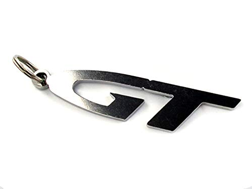 Preisvergleich Produktbild GT Emblem Schlüsselanhänger aus poliertem Edelstahl