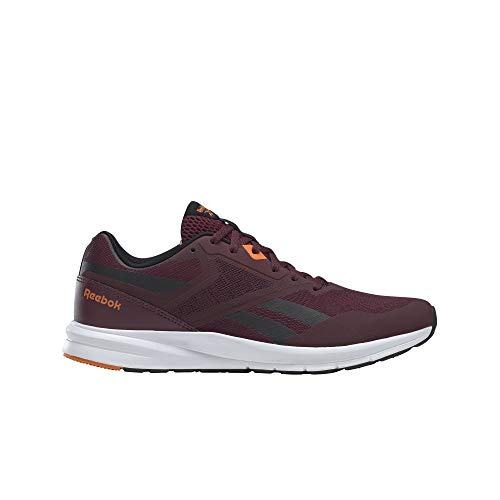 Reebok Runner 4.0, Zapatillas de Running Hombre, Granat/Negro/HIVIOR, 41 EU