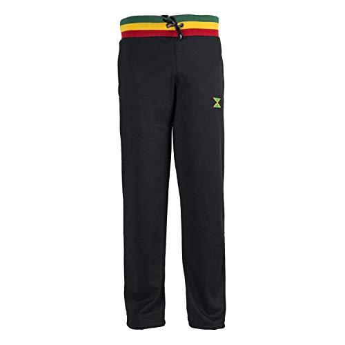 JL Sport Pantalones Holgados Negro Gimnasio Deportes Baloncesto Boxeo Bermuda Beach Camisetas De Reggae