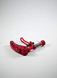 Dino Kiddo Red Seat Post Clamp Handle + Rear Frame Clip for Brompton Folding Bike