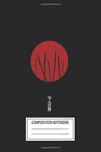 Notebook: Seven Samurai Wide Ruled , Journal for Writing, Size 6