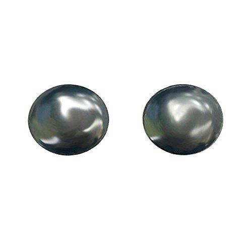 Magnetic Therapy Hematite Stimulating Acupoints Stud Earrings Health care for Women Men Non-piercing