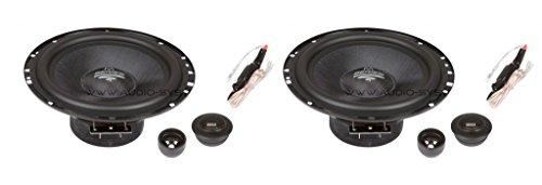 Audio System MX 165Plus–KFZ-Koaxiallautsprecher 120W, Schwarz