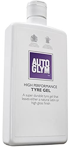 Autoglym - Gel de Alto Rendimiento para Neumáticos, Gel Sin Escurriduras para un Acabado de Alto Brillo o Satinado Natural, 500ml
