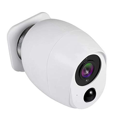 LLKK Cámara de 1080p Hd al aire libre Wifi Control inalámbrico 2MP Seguridad Doméstica Detección de Movimiento Alarma Audio Bajo Consumo de Energía (Tamaño: 0GB)