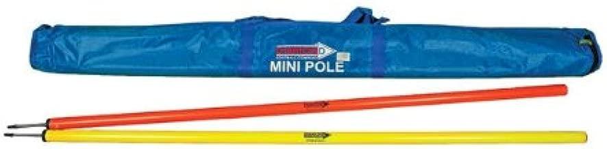 1.5m Diamond Football Mini Training Pole Set Yellow//Orange