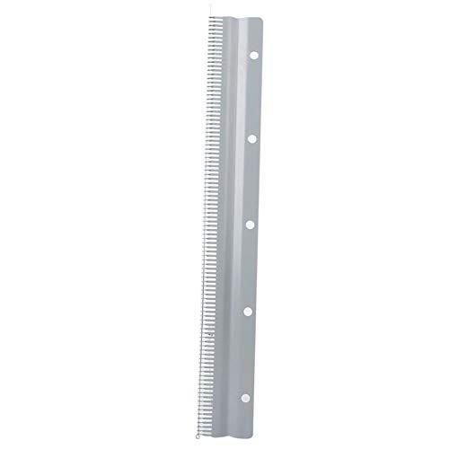 Peine de Montaje para Accesorios de máquina trenzadora Silver Reed(45 cm, Short Pick Comb)