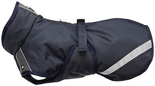 TRIXIE Abrigo Rimont, S: 36 cm: 52–66 cm, Azul oscuro, Per