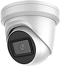 4K UltraHD PoE IP Camera - 8MP Outdoor Dome Security Camera with 2.8mm Super Wide Angel Lens, 98ft Color Night Vision, Micro SD Card Slot, H.265+, IP67 Waterproof