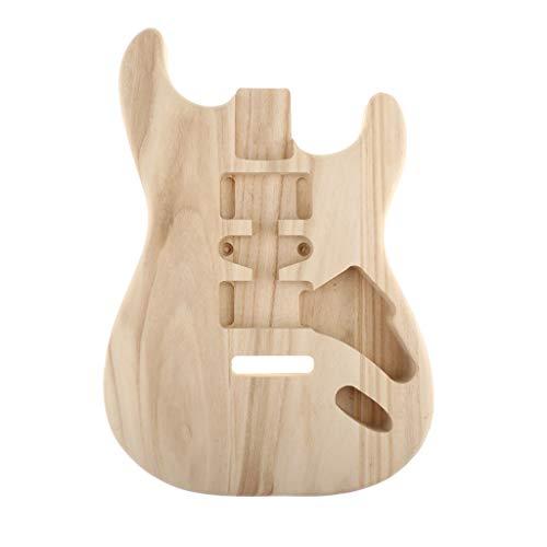 Almencla Gitarrenkorpus, Gitarren-Korpus aus Bergahornholz für ST E-Gitarren - Guitar body