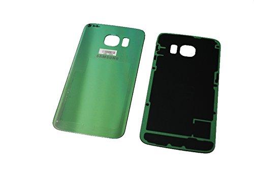 Samsung G925 F Galaxy S6 Edge - Cover per batteria originale, colore: Verde/Verde