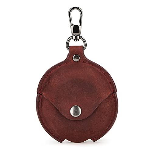 ZOUD Funda de piel para HUA-WEI FreeBuds 4 auriculares accesorios retro elegante carcasa de cuero anti-perdida